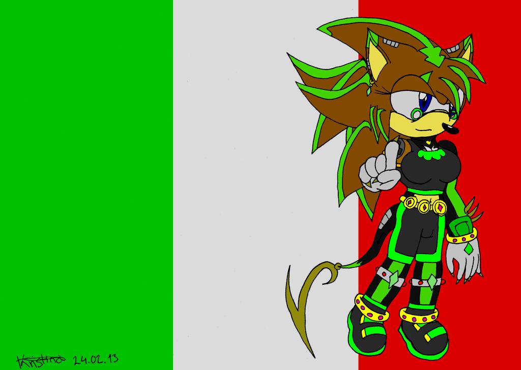 .:Flag Italy:. Robin by DarkKittySucker