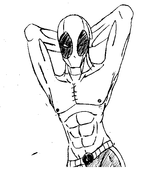 Deadpool Sexy by Char911
