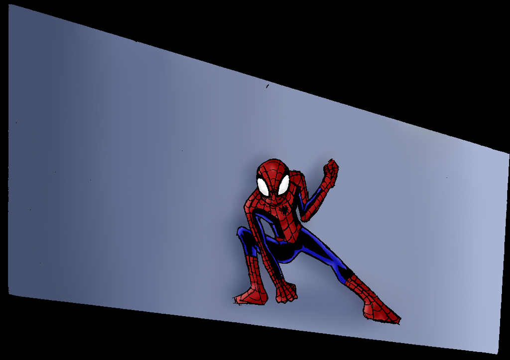 Ultimate Spider-Man Accion Frame by Char911