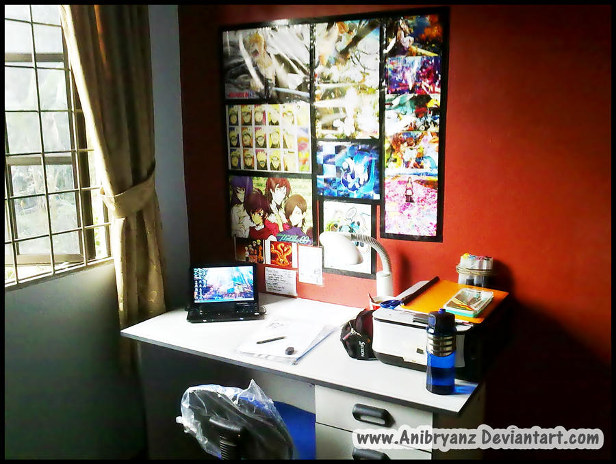 My workspace.. :D by AniBryanz