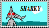 SHARKY stamp by Akhrrana