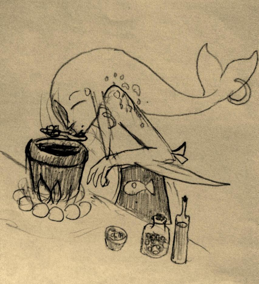 Zech's seaweed soup by Akhrrana