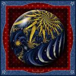 Gift Box Marble - Night Sky