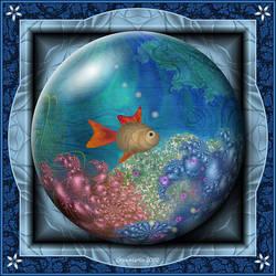 Gift Box Marble - VG Fish by Velvet--Glove