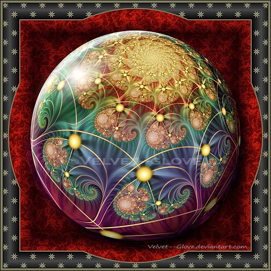 Gift Box Marble-Festive Spirit by Velvet--Glove