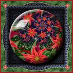 Gift Box Marble - Poinsettia by Velvet--Glove