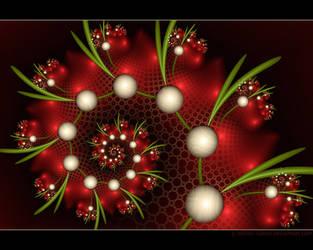 Christmas Marbles by Velvet--Glove