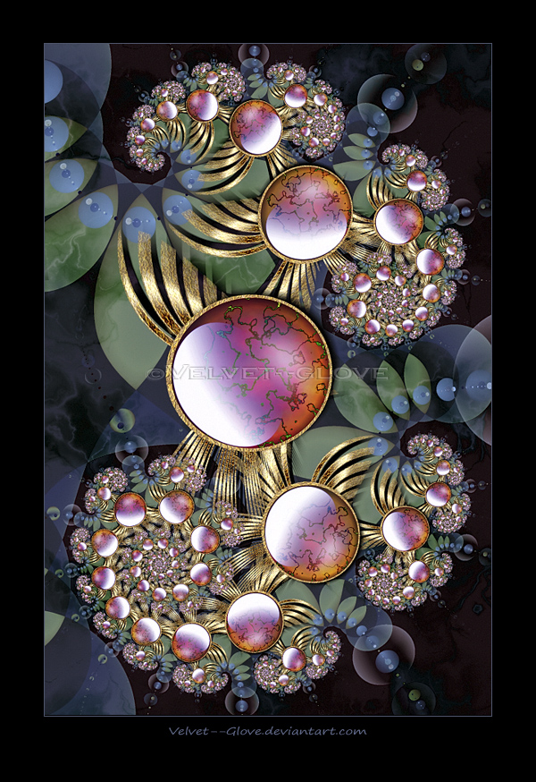 Tropical Jewel by Velvet--Glove