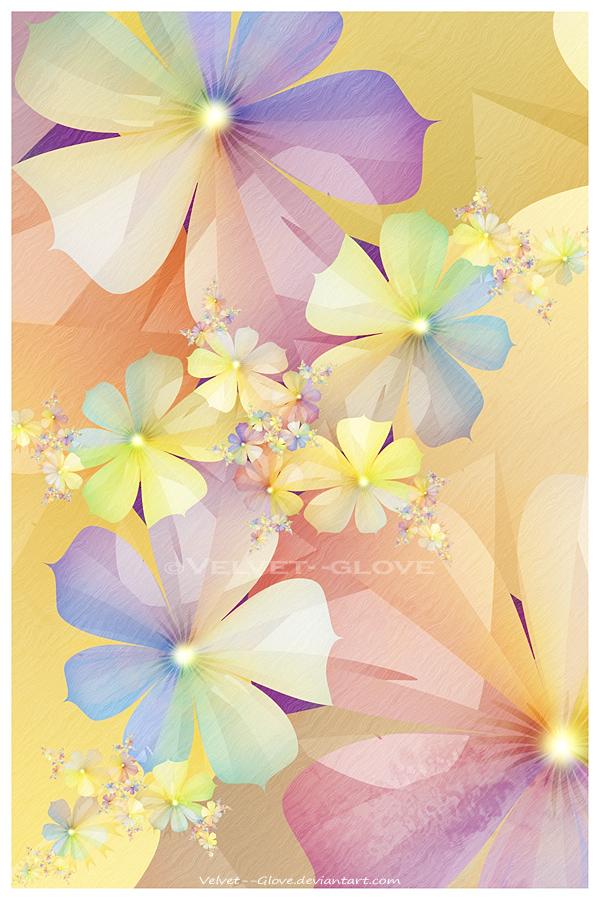 Spring Rainbow by Velvet--Glove
