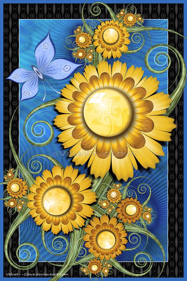 Good Day Sunshine by Velvet--Glove