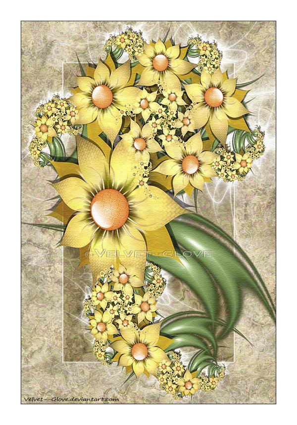 Sunshine Bouquet by Velvet--Glove