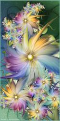 In My Fractal Garden by Velvet--Glove