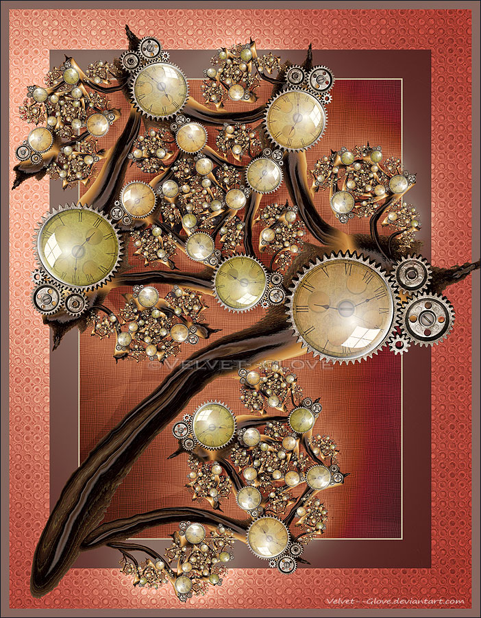 The Chronomancer's Wand by Velvet--Glove
