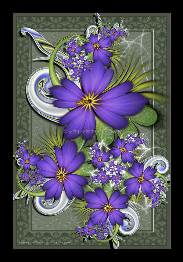 The Violet Pool by Velvet--Glove