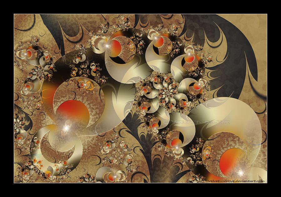 Oriental Flourish by Velvet--Glove