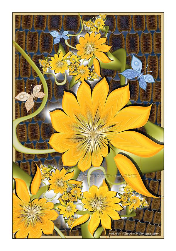 Summer Garden Delight by Velvet--Glove