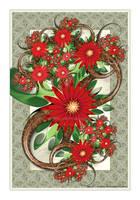 Crimson Bouquet by Velvet--Glove