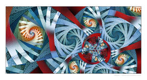 Masked Mandala by Velvet--Glove