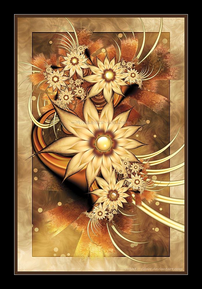 Yesterday's Flowers by Velvet--Glove