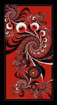 Scarlet Flourish by Velvet--Glove