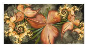 Spinning Leaves by Velvet--Glove
