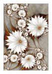 Sepia Flowerscape