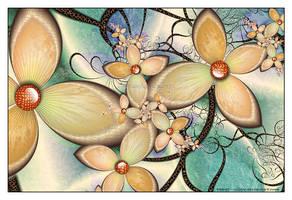 Orbital Flowers by Velvet--Glove
