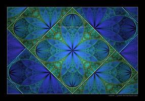 014 - Blue Garden by Velvet--Glove