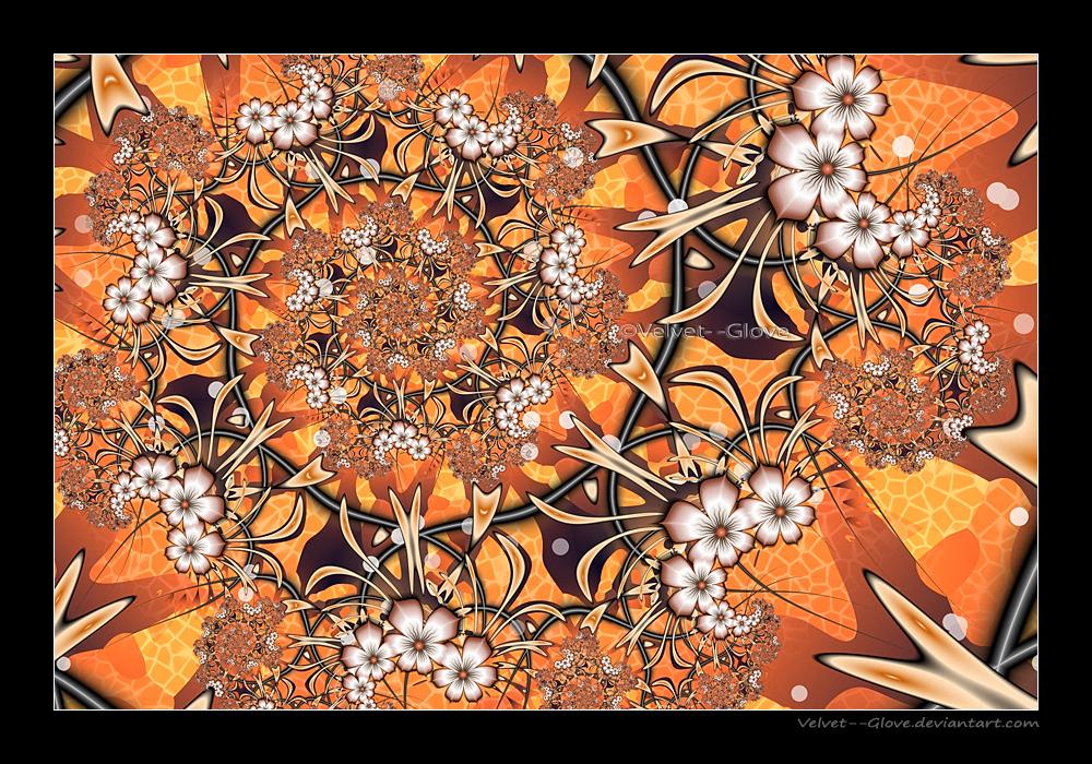 Flower Crush by Velvet--Glove
