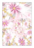 Pink Organza by Velvet--Glove