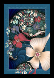 Fractal Applique by Velvet--Glove