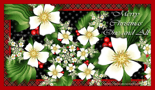 Merry Christmas One and All