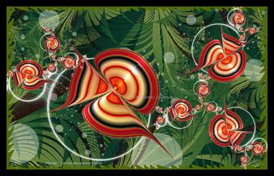 Strange goings-on in the jungle by Velvet--Glove