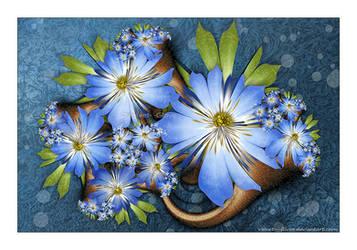Blue Rapture by Velvet--Glove