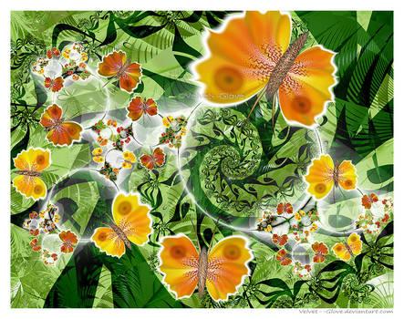 Jungle Flight by Velvet--Glove
