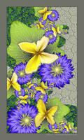 Butterfly Border by Velvet--Glove
