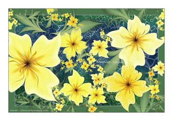 Sunshine Garden by Velvet--Glove