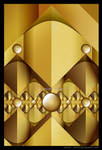 Golden Pyramid scheme by Velvet--Glove