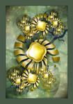 Golden Medusa by Velvet--Glove