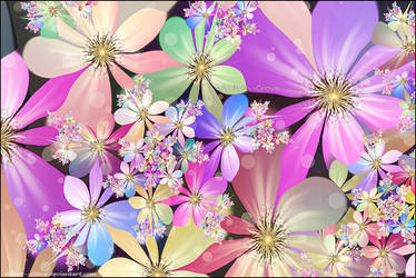 Colour My World With Flowers by Velvet--Glove