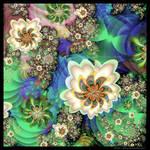 UF Chain Pong 1525 - Florid Follies by Velvet--Glove