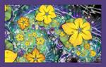 Ornamental Pond in Spring by Velvet--Glove