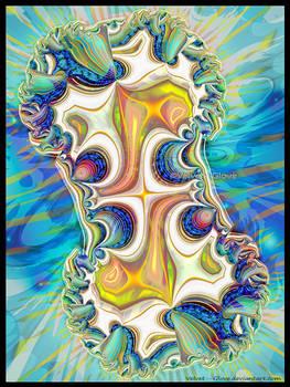 Seascape With Fractal Amoeba
