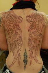 Steampunk Wings WIP