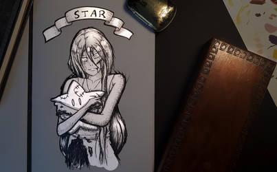 Star - Day 8 - Inktober2018 by Kr1ger