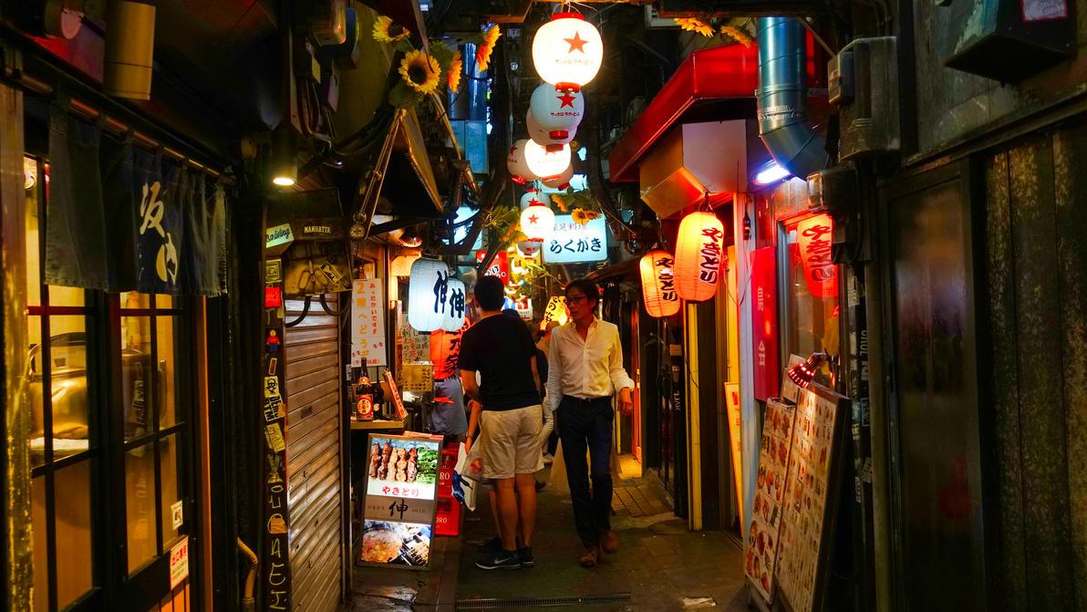 Yakitori Street by Blackwood31