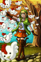 Legend of Zelda: Linkle by RenRou