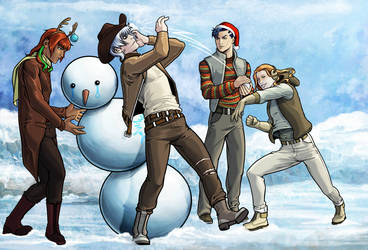 Merry Christmas! by RenRou