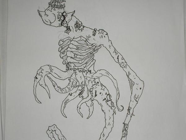 Ghostfreak's true form by alorix on DeviantArt