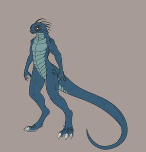 Reptilian Girl